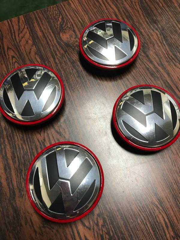 VW純正センターキャップ ゴルフclubsport化