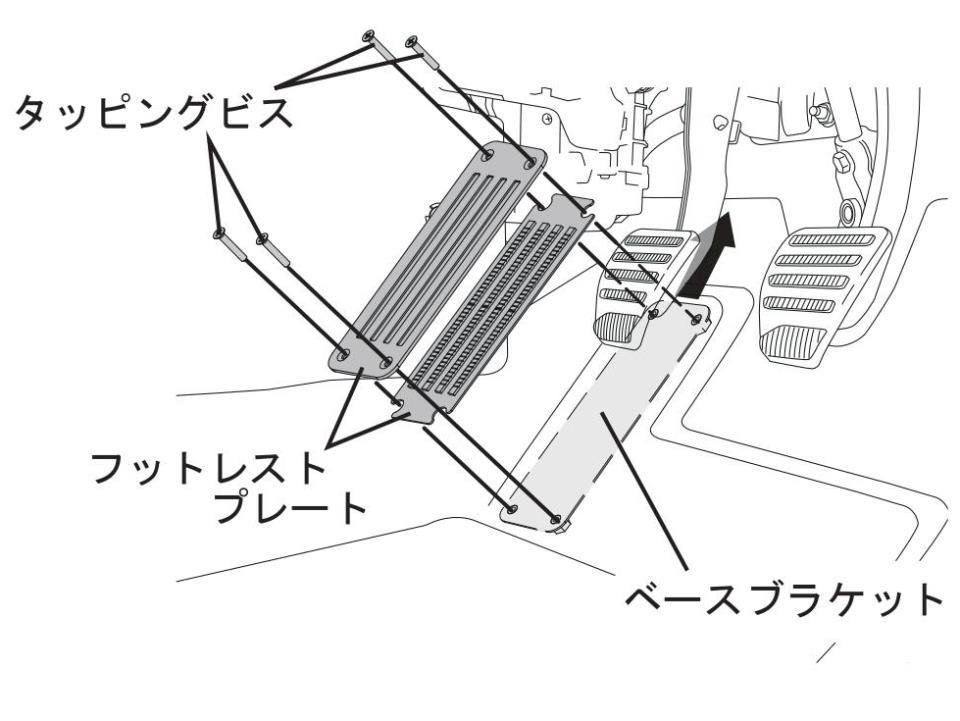 【製品開発】 NEOPLOT(ネオプロト) フットレストバーNEO