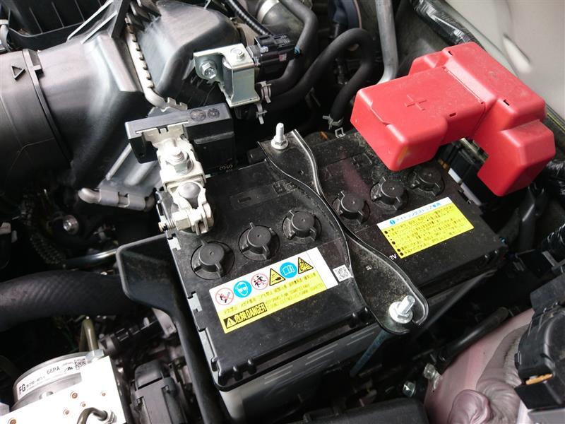 ハスラー バッテリー 交換