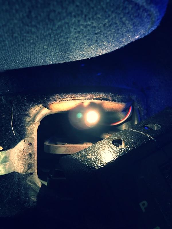 オートマシフト表示ランプが気まぐれなので