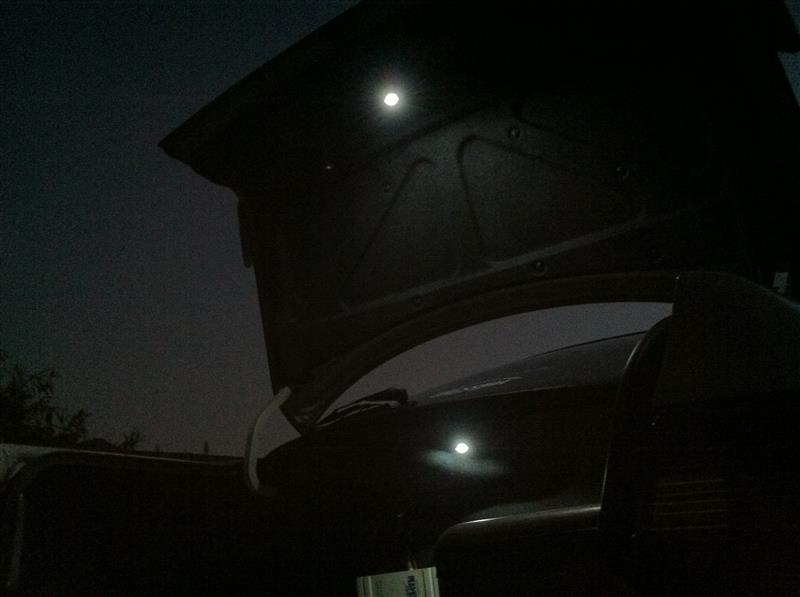 ラゲッジルームランプ LED化 その他、仕様変更