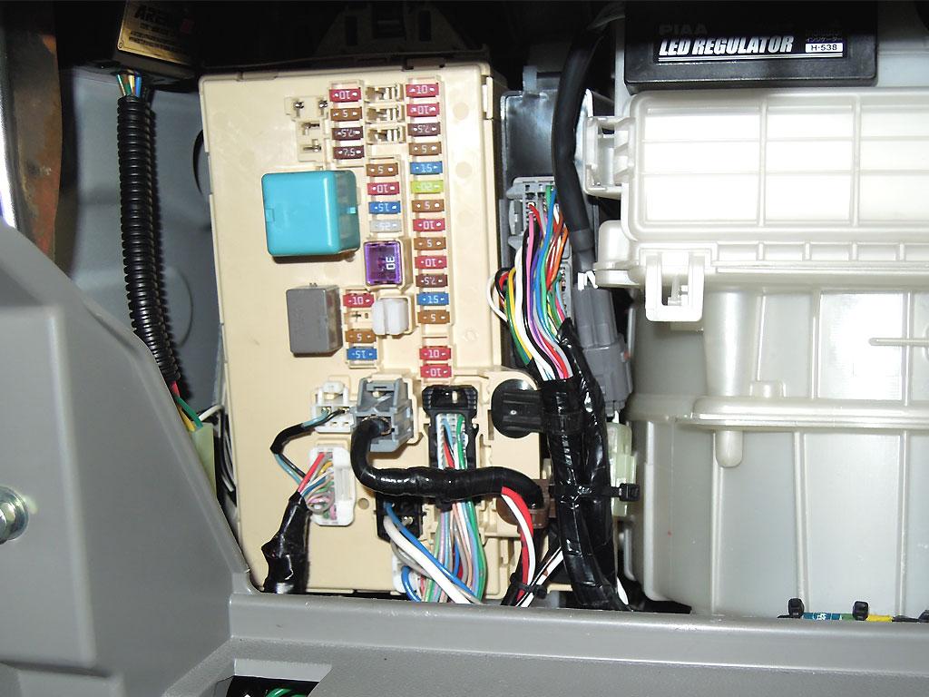 LEDレギュレーター取付