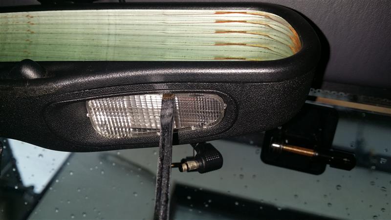 マップランプ交換(LED化)