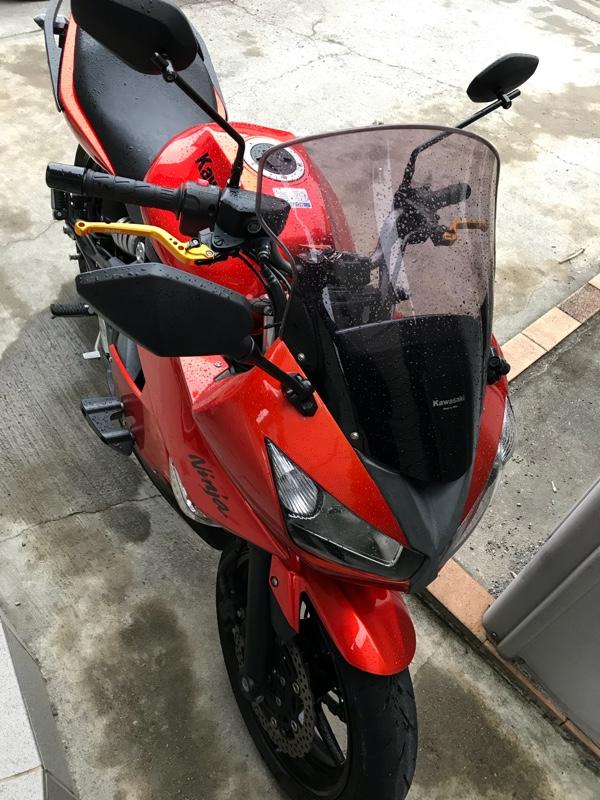 【Ninja650R 2011年】ブレーキレバー交換