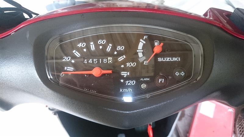 プラグ交換 44518.6km