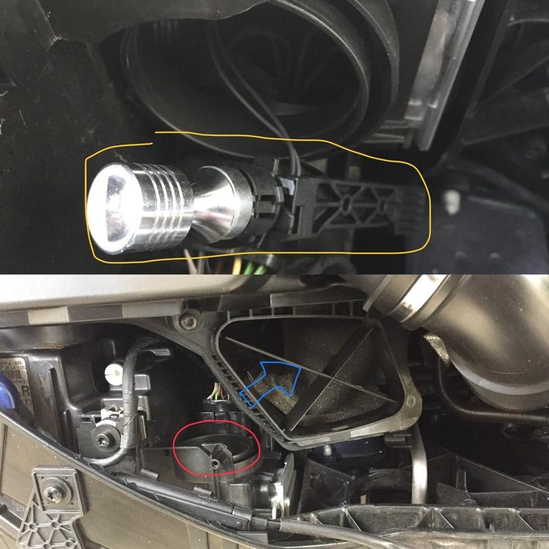 フロント ウィンカー LED バルブ