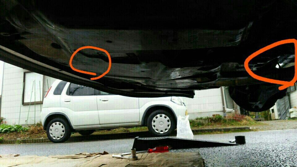 タイヤ交換とオイル交換等々