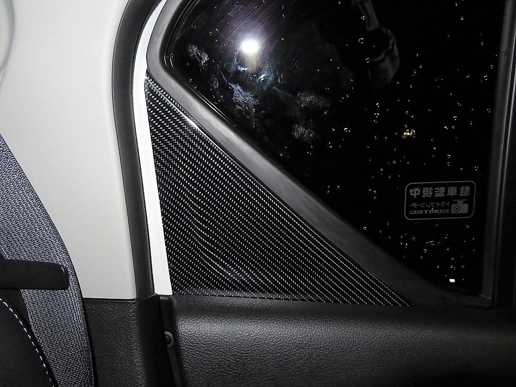 イグニスリアドア内側の鉄板部分にカーボン調シートを貼ろう
