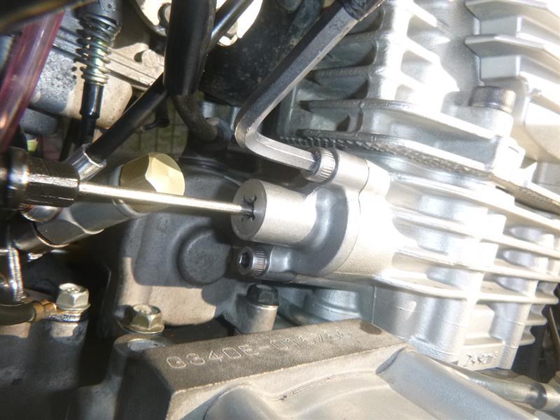 セロー250 スターターモーター分解修理2