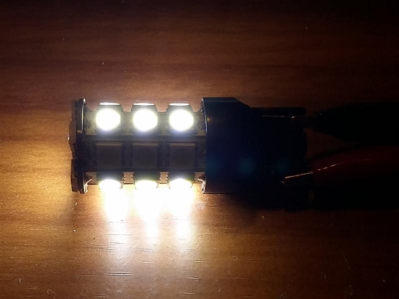 ポジション灯試作と交換