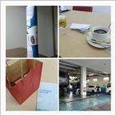コーヒーをいただいて・・・☕😃☀<br /> <br /> 安全装備の話を聞いて日用品を貰い・・・🌀👕<br /> <br /> 来年のカレンダーを貰いました・・・📆