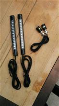 バリオス LEDテールとナンバー灯取り付けのカスタム手順1