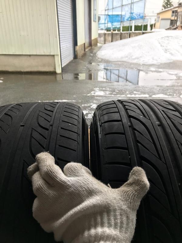 夏→冬タイヤへ交換