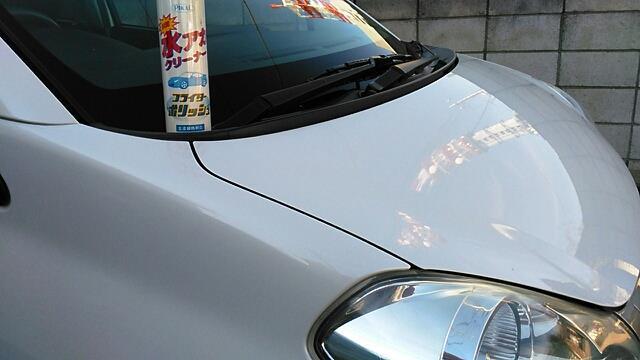 洗車&水垢落とし