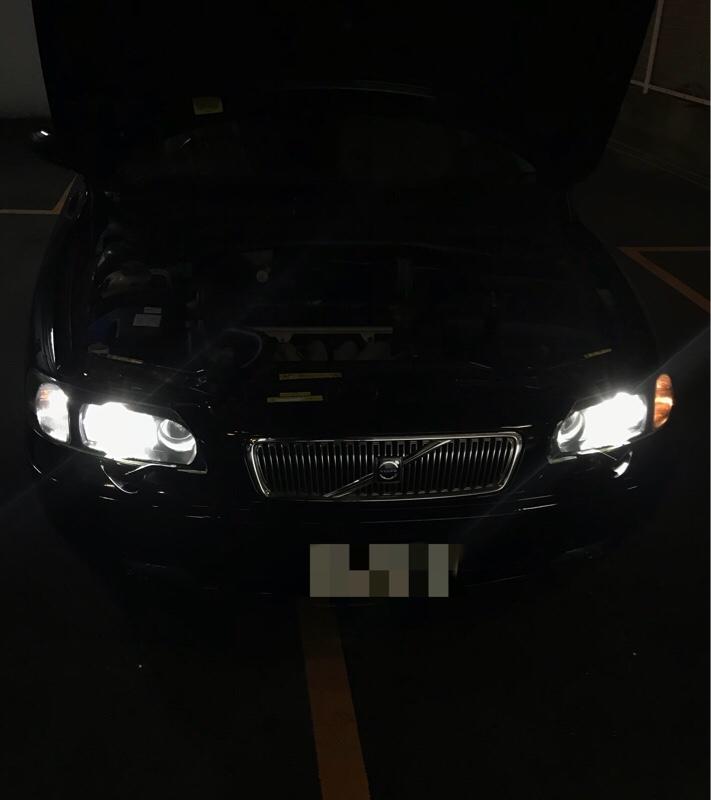 ポジションランプ 白色LED 化
