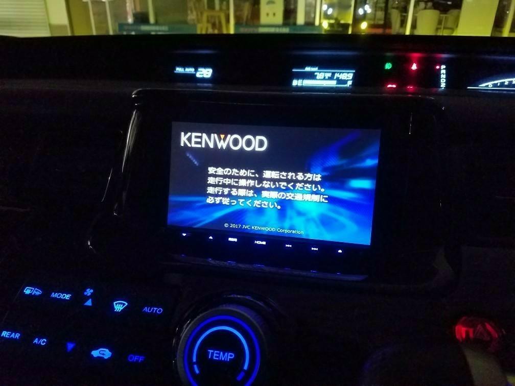 KENWOOD MDV-M705 彩速ナビ