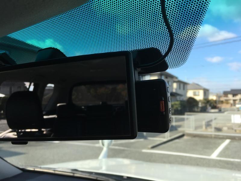 KENWOOD DRV-610 取り付け