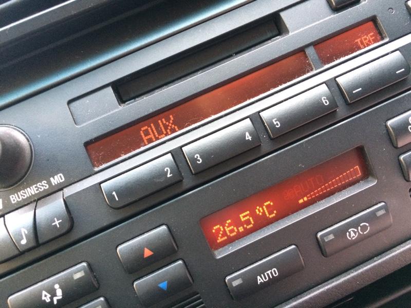 純正MDオーディオ AUXモード追加