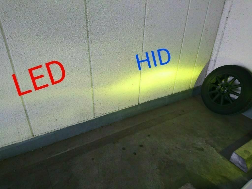 HIDフォグからのLEDフォグ ②