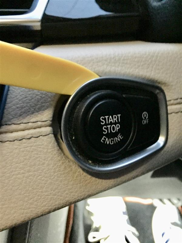 エンジンスターターボタン(赤)への交換