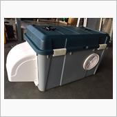 HONDA EU16i 発電機用防音ボックス製作⑤
