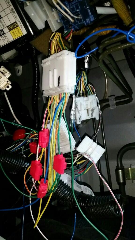 ハーネス交換 (TWメイン配線接続) 2 問題点