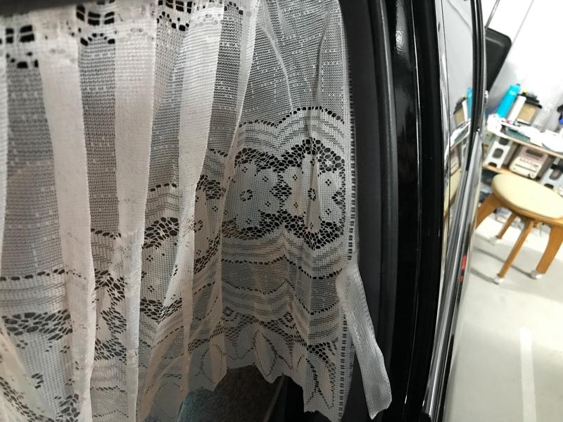 ダイソー サイドカーテン