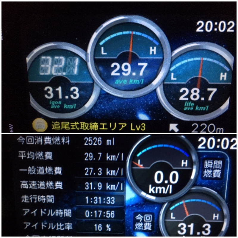 eco Glider GT+ 走行記録 1724★★