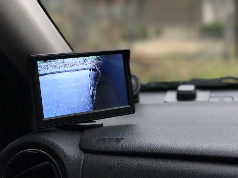 サイドカメラ取付