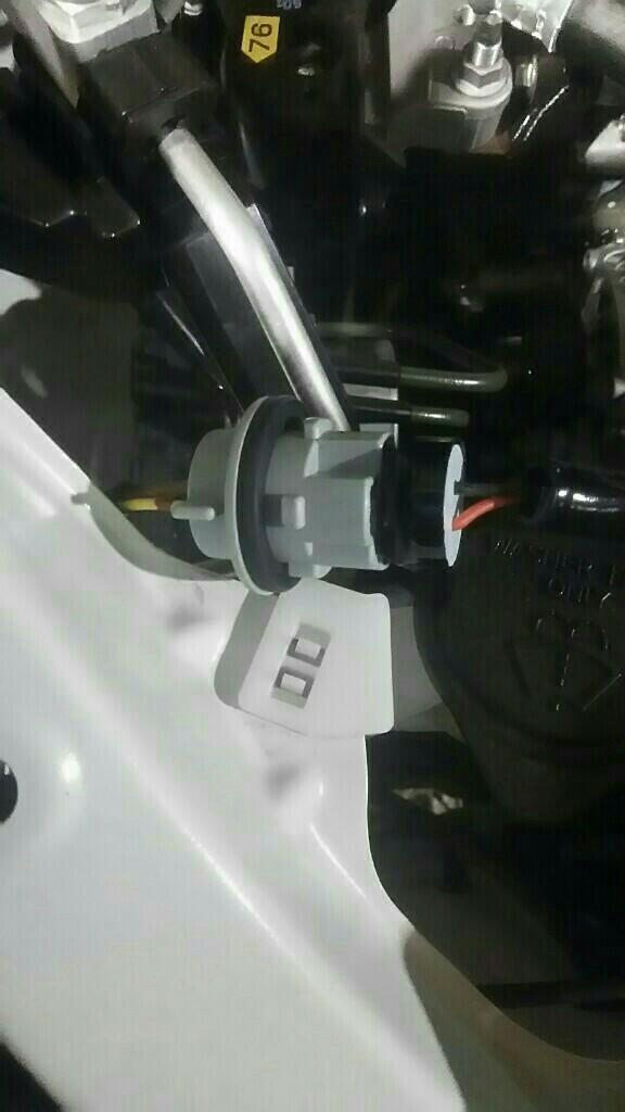 フロントウインカーポジションランプ化