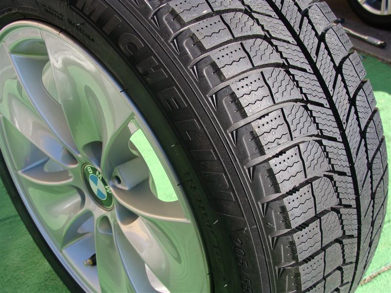 VB23 冬タイヤへ交換
