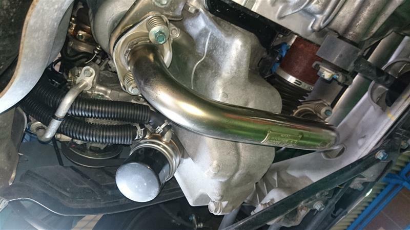 【11854km】エンジンオイル・エレメント交換