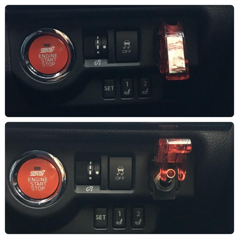 アンサーバック音変更とショックセンサー取り付け