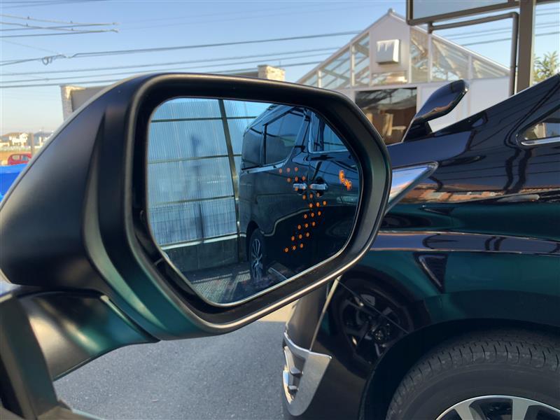BMS・ヒーター対応 LEDウィンカー付ドアミラー
