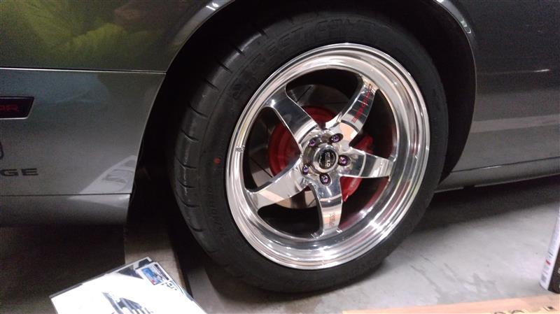 MICKEY THOMPSON + タイヤステッカー