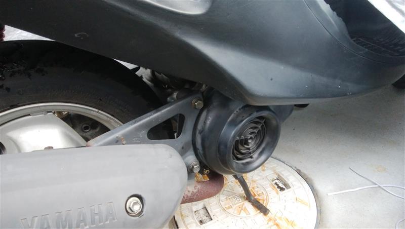 規制後エンジンに載せ替え。