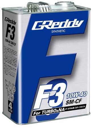 GReddy F3 10W-40 SM-CF SYNTHETIC BASE 3.9ℓ<br /> <br /> フィルター交換なし<br /> <br /> odo:121081km