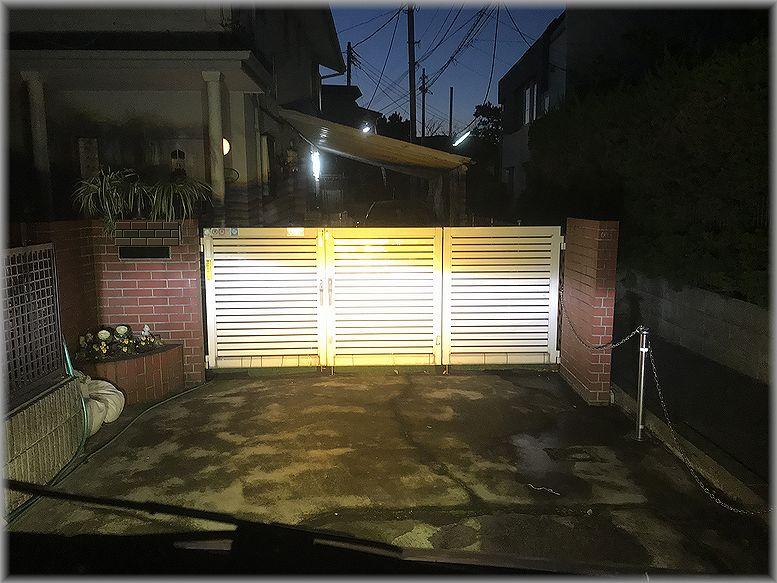 LED作業灯追加!その2