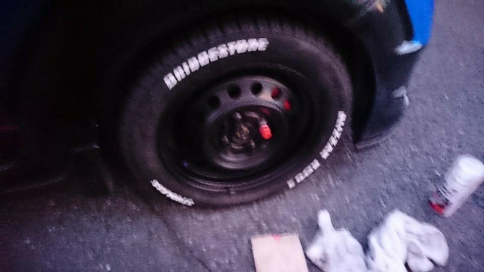 タイヤ 安価でホワイトレター