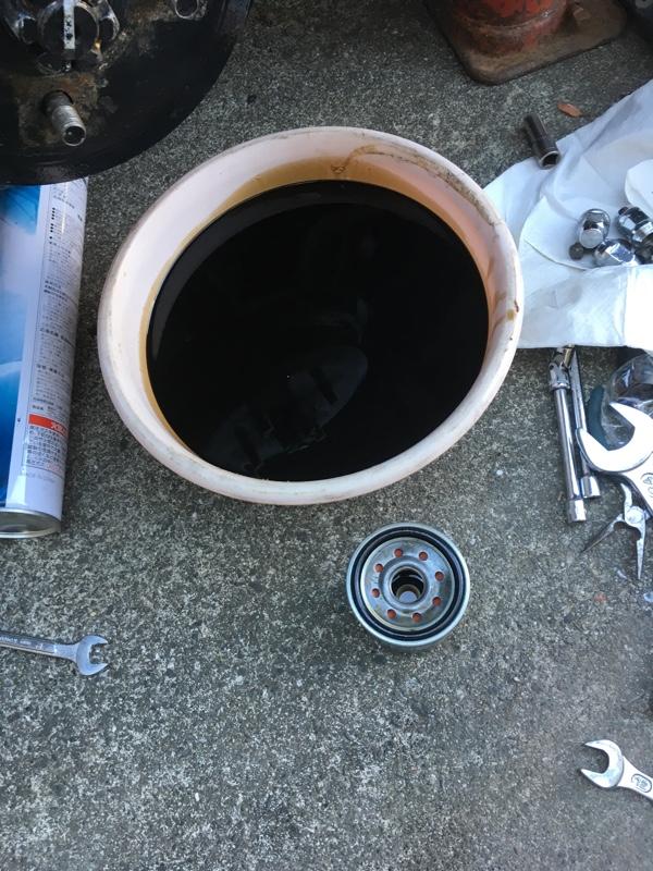 オイルレベルゲージパイプ油漏れ