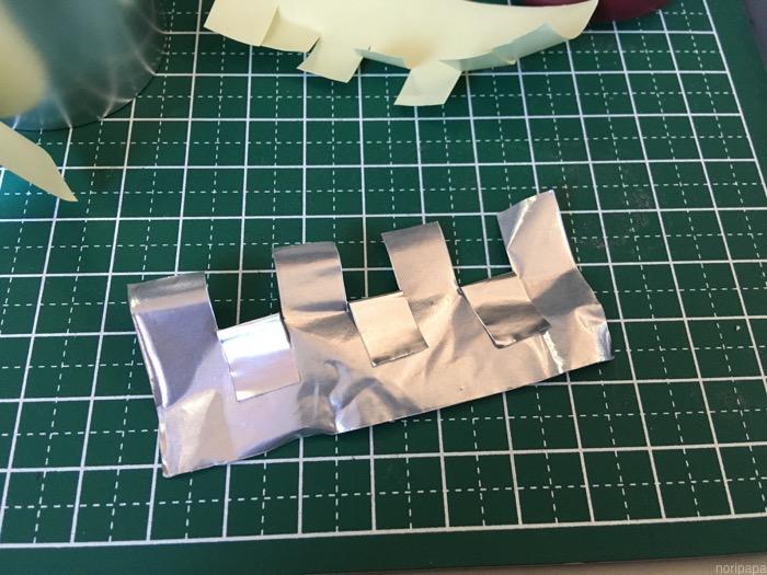 糊面に導電性のないアルミテープを使う方法(アルミテープチューン)