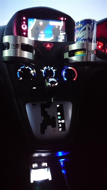 エアコン シフト 灰皿 LED化