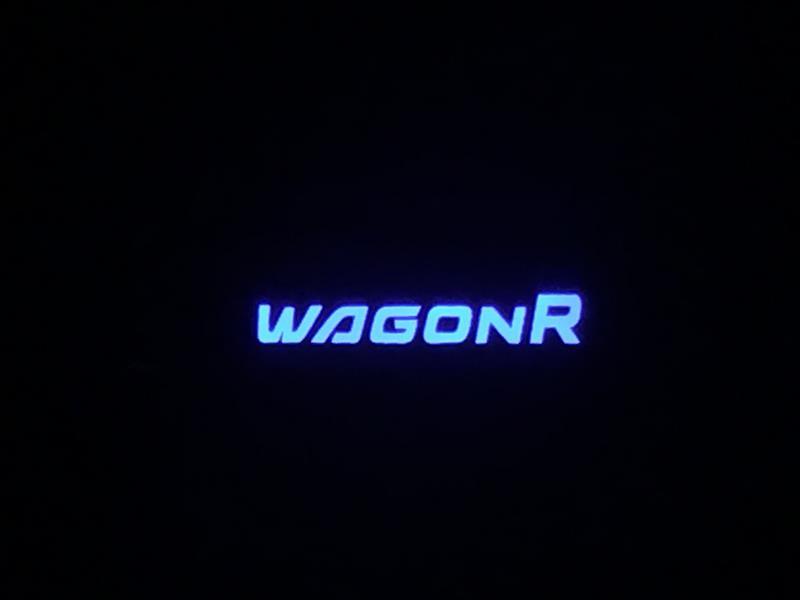 ワゴンR/スティングレイ MH34S用スカッフプレート取付 その2