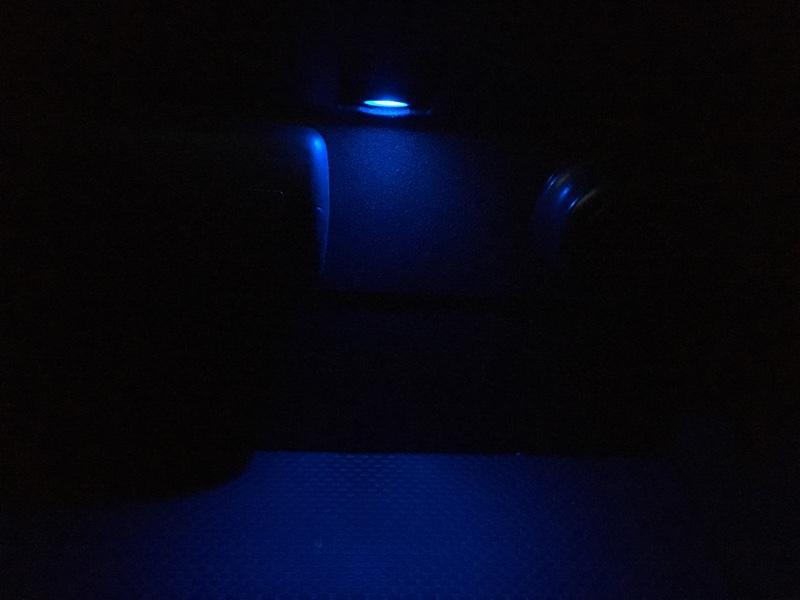 センタートレイ照明光量up