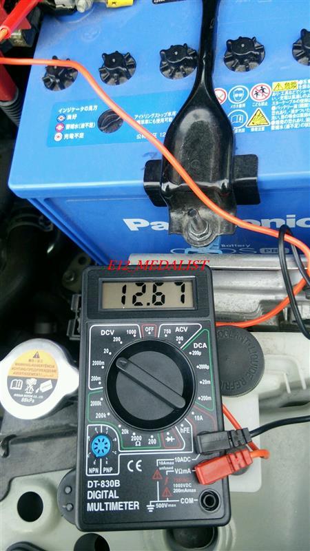 <忘備録>バッテリー充電(E12ノート)