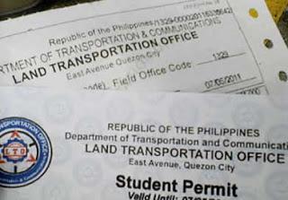 フィリピン嫁 スチューデントライセンスを取得