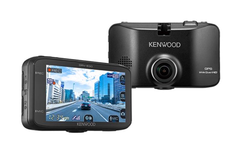 KENWOOD ドライブレコーダーDRV-830