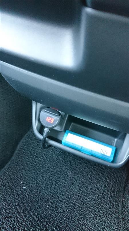 バッテリーをCAOSに交換