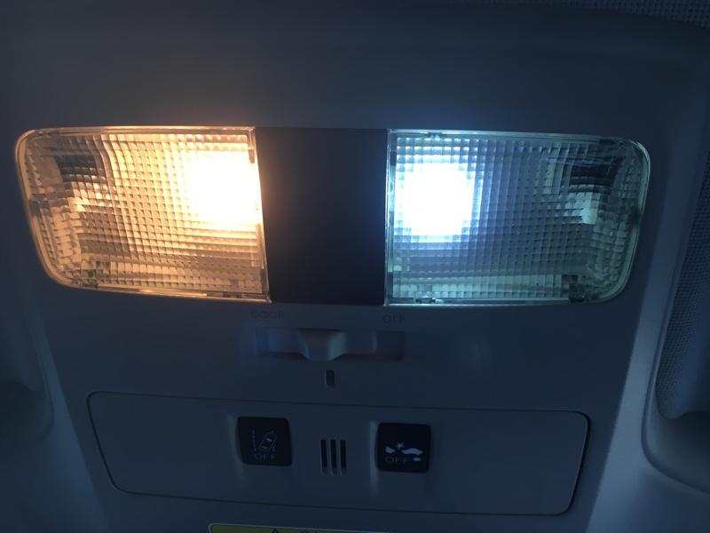 LEDをポン♪