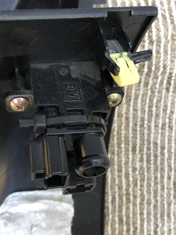 ダッシュボード下部カバー交換